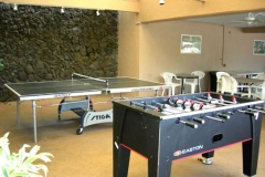 Ping pong and foosball
