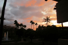 Stunning Sunset Viewed From Our Lanai