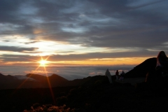Mt Haleakala morning sunrise