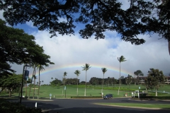 Rainbow at Lahaina golf course