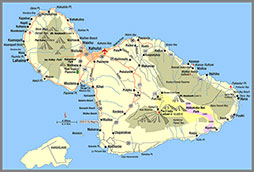Maui Map