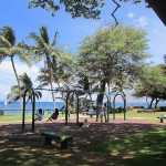 Children's Swings and park area - Kamaole III park and beach