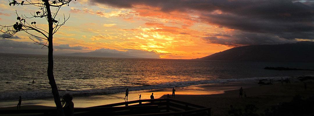 Kamaole lll Beach Sunset